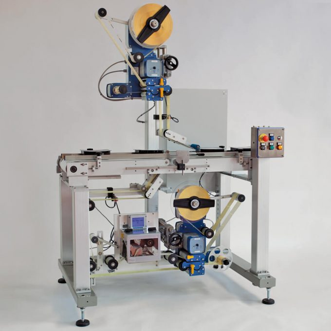 Máquina de etiquetagem automática acima / abaixo