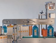 Sistema de etiquetagem frontal / traseira automática 5