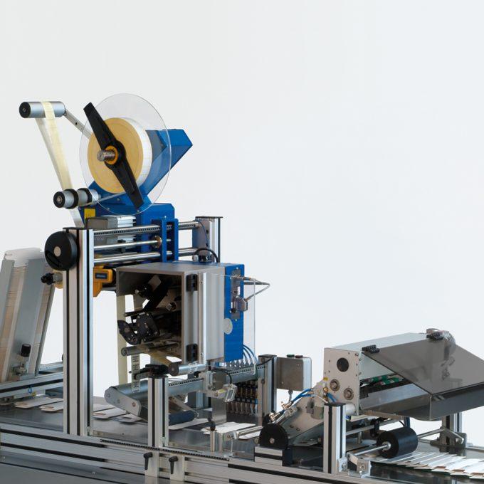 Sistema de etiquetagem automática superior 9
